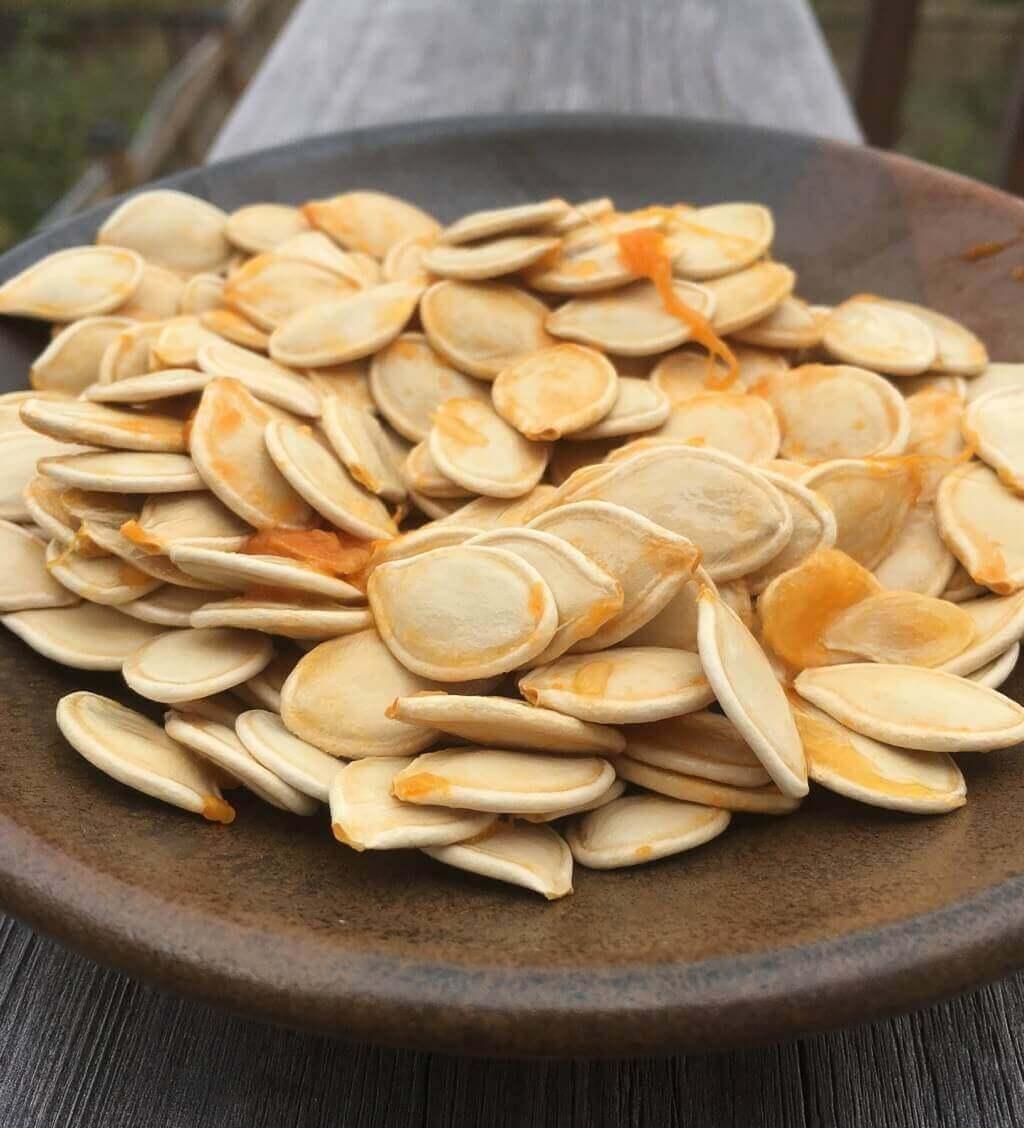 Pumpkin seeds, a great source of energy