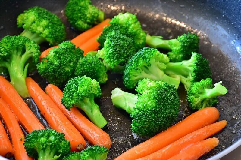 Did you know that almost 20% of the daily water intake comes from vegetables and fruits?