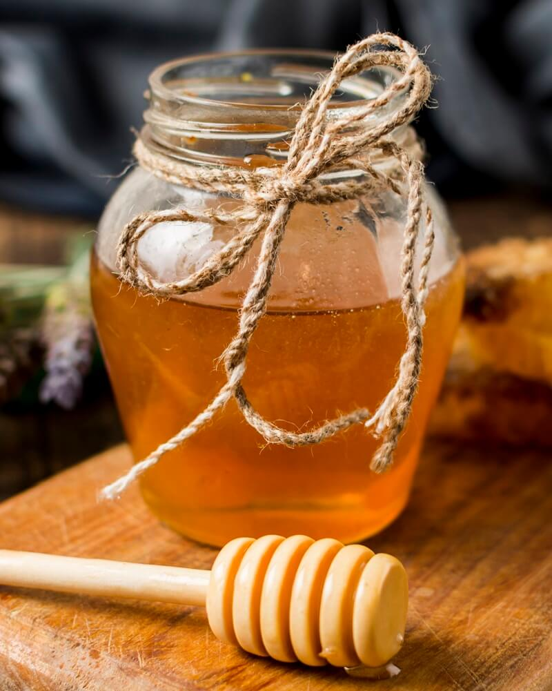 How do store honey to preserve its properties