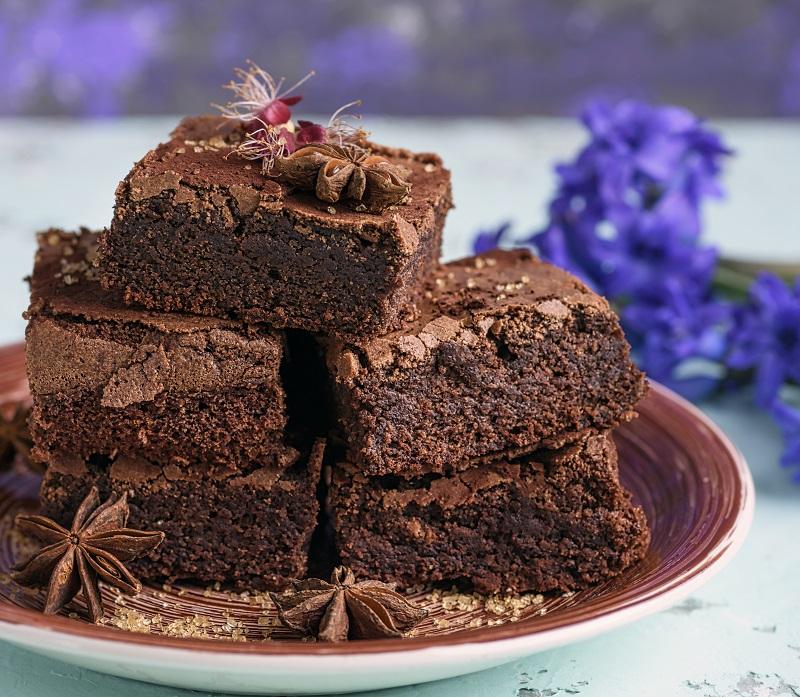 No flour brownies from three ingredients