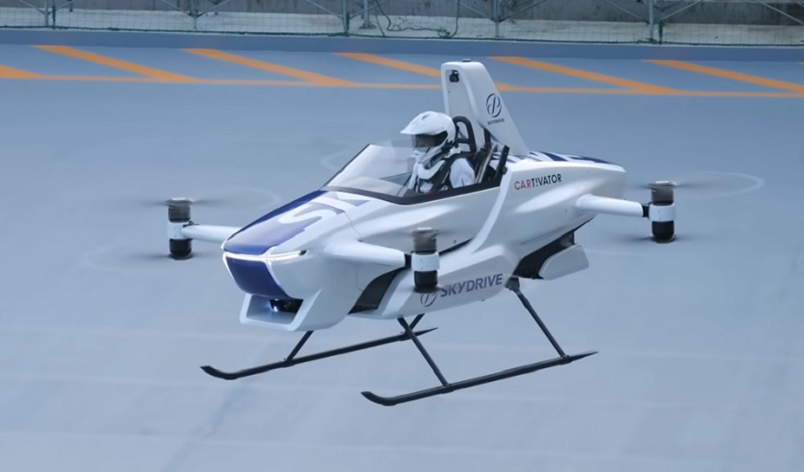 The first flying car is about to be launched on the market