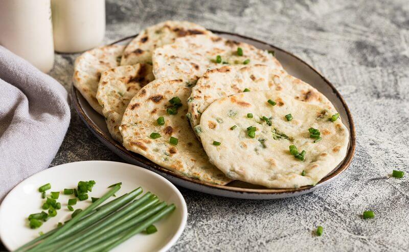 Quick homemade naan bread recipe