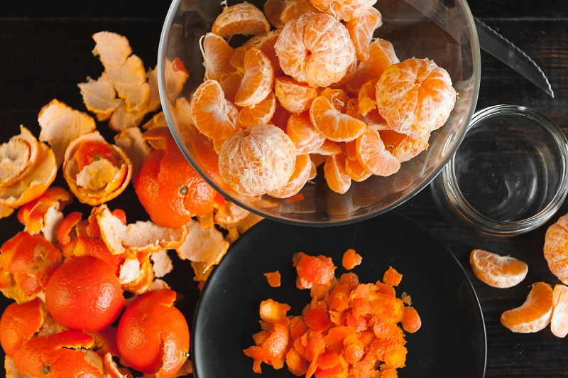 Why you should never throw out tangerine peels