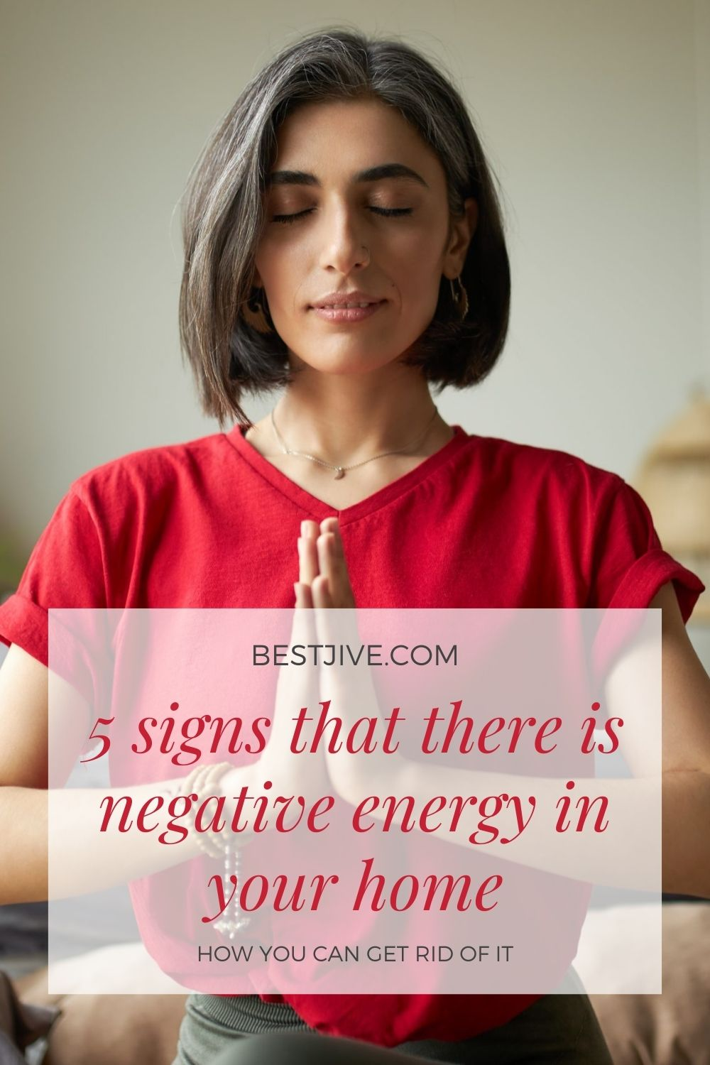 5 signs that there is negative energy in your home and how you can get rid of it
