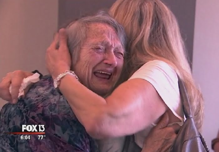 The doctors told her that her baby died - 69 years later she finally got to know her daughter