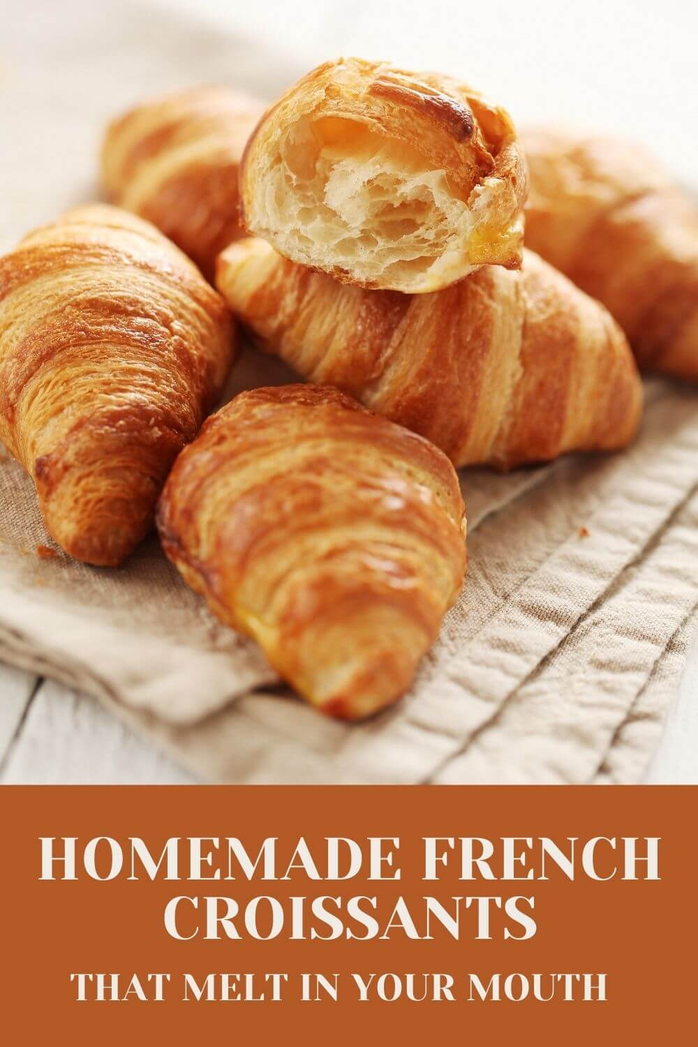 Homemade French croissants that melt in your mouth