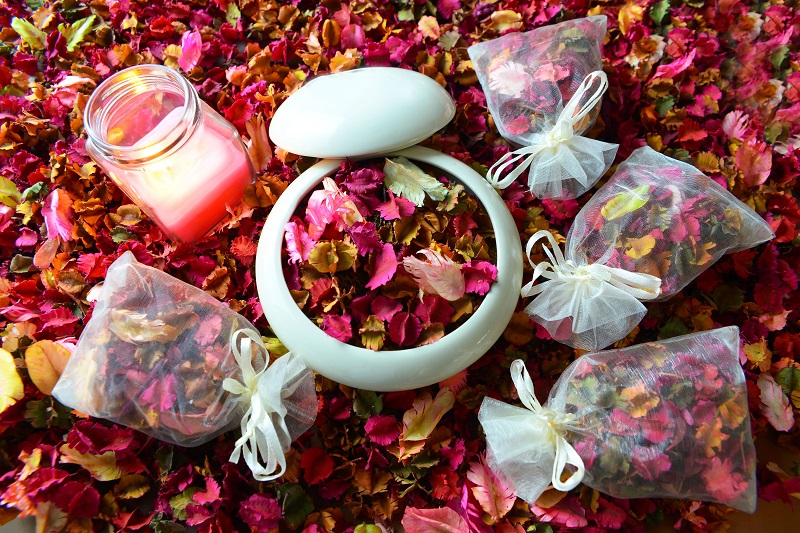 It's a pity to throw out rose petals - see what you can do with them