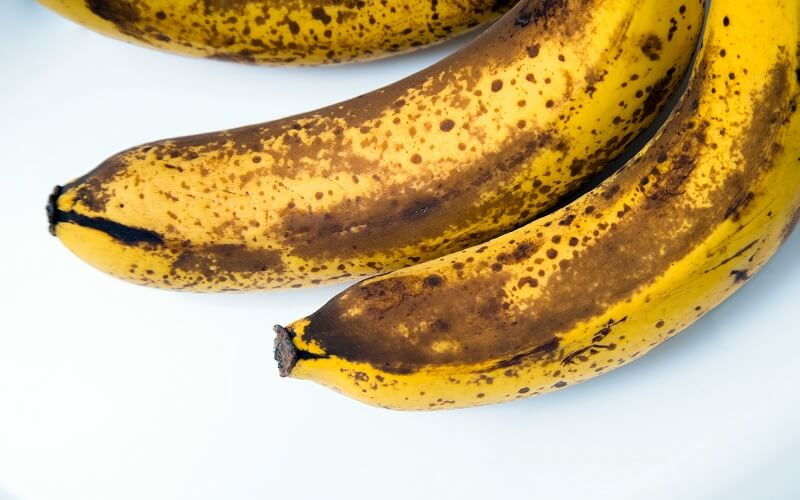 The health benefits of very ripe bananas
