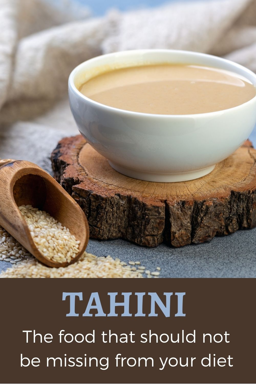 Tahini, the food that should not be missing from your diet