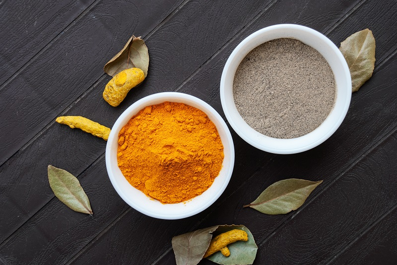 Combine turmeric with black pepper for AMAZING health results