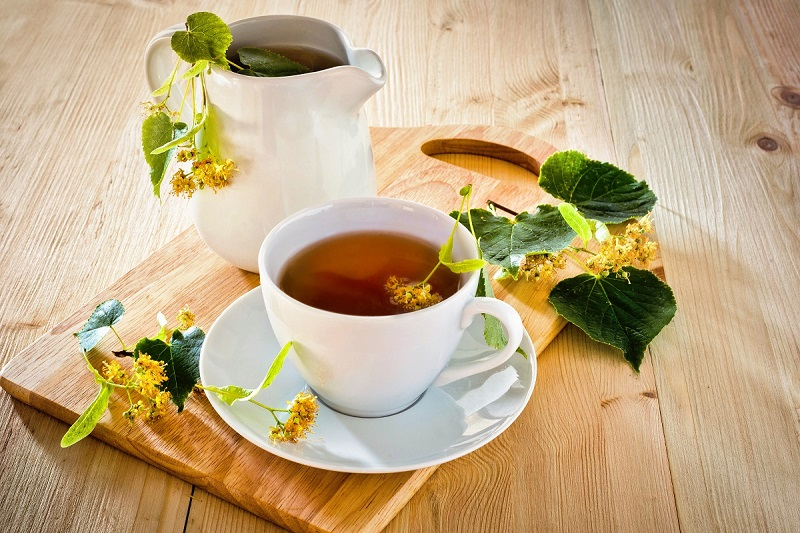 "Linden flower tea, the ""nectar of kings"""