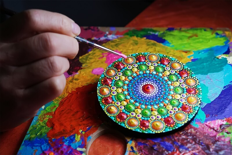 How to activate healing energies in your home with the aid of Tibetan mandalas