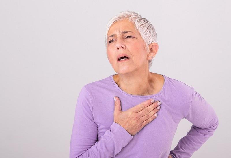 The symptoms of myocardial infarction in women