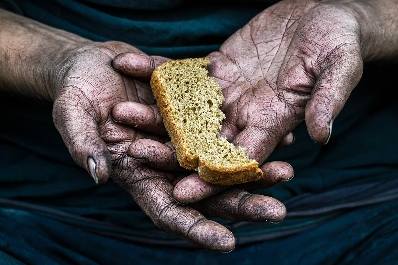 Global hunger levels worsened dramatically last year. In Africa, 21% of the population is undernourished